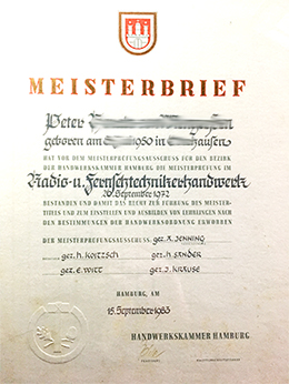 Meisterbrief ano