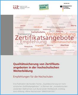 Qualitätssicherung in der hochschulischen Weiterbildung