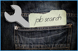 Arbeitsuchend Schraubenschlüssel Jeans